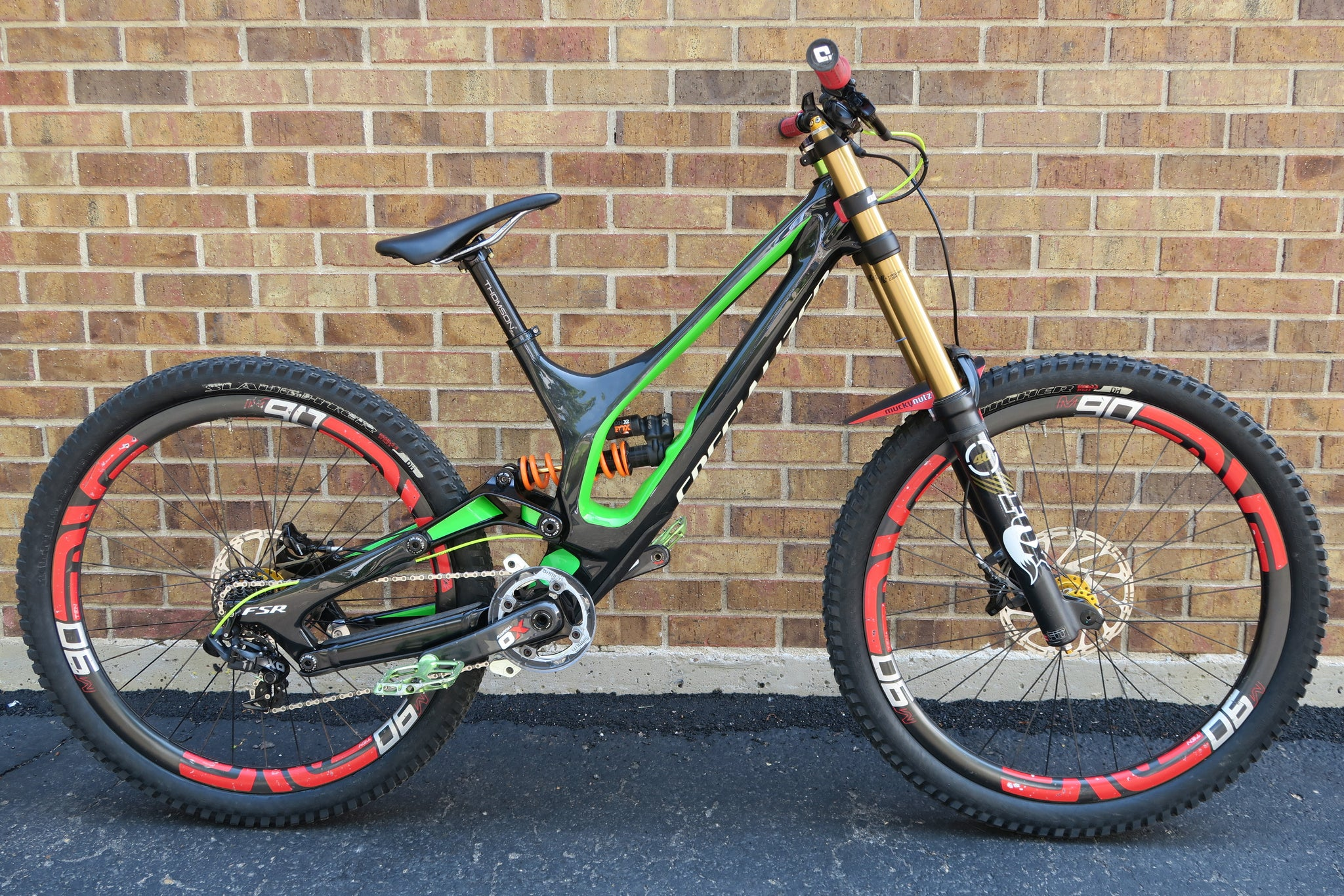 2016 SPECIALIZED DEMO 8 CARBON 27.5""