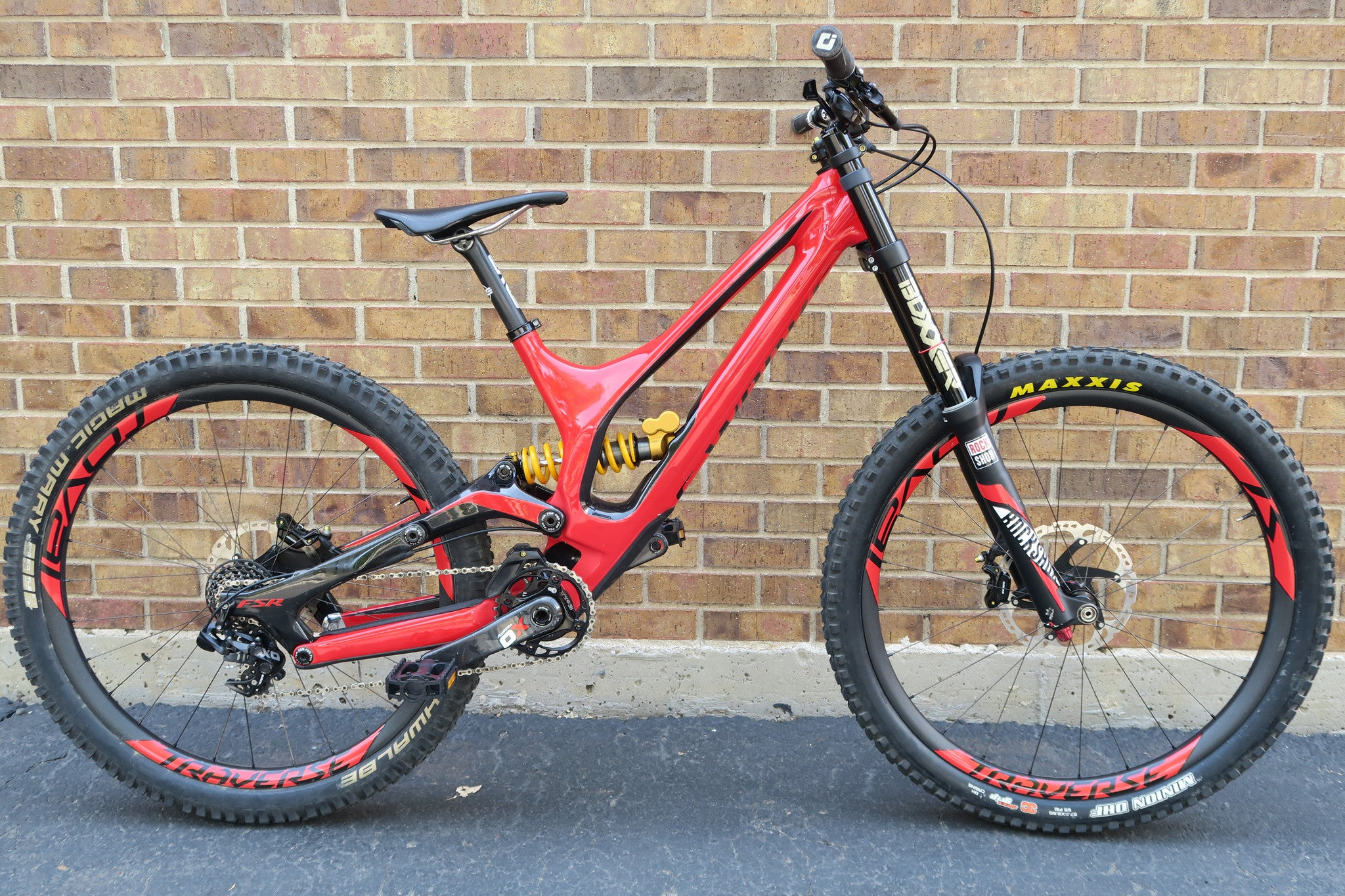 2015 S-WORKS DEMO 8 CARBON 27.5