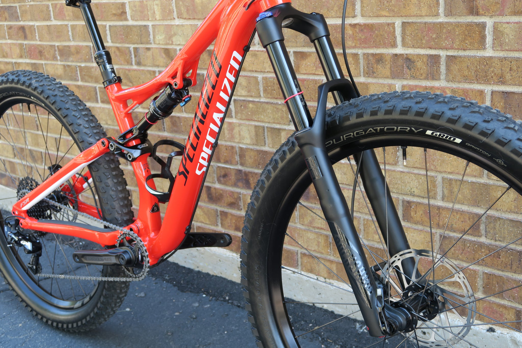 "2017 SPECIALIZED STUMPJUMPER FSR COMP 6FATTIE 27.5""+"