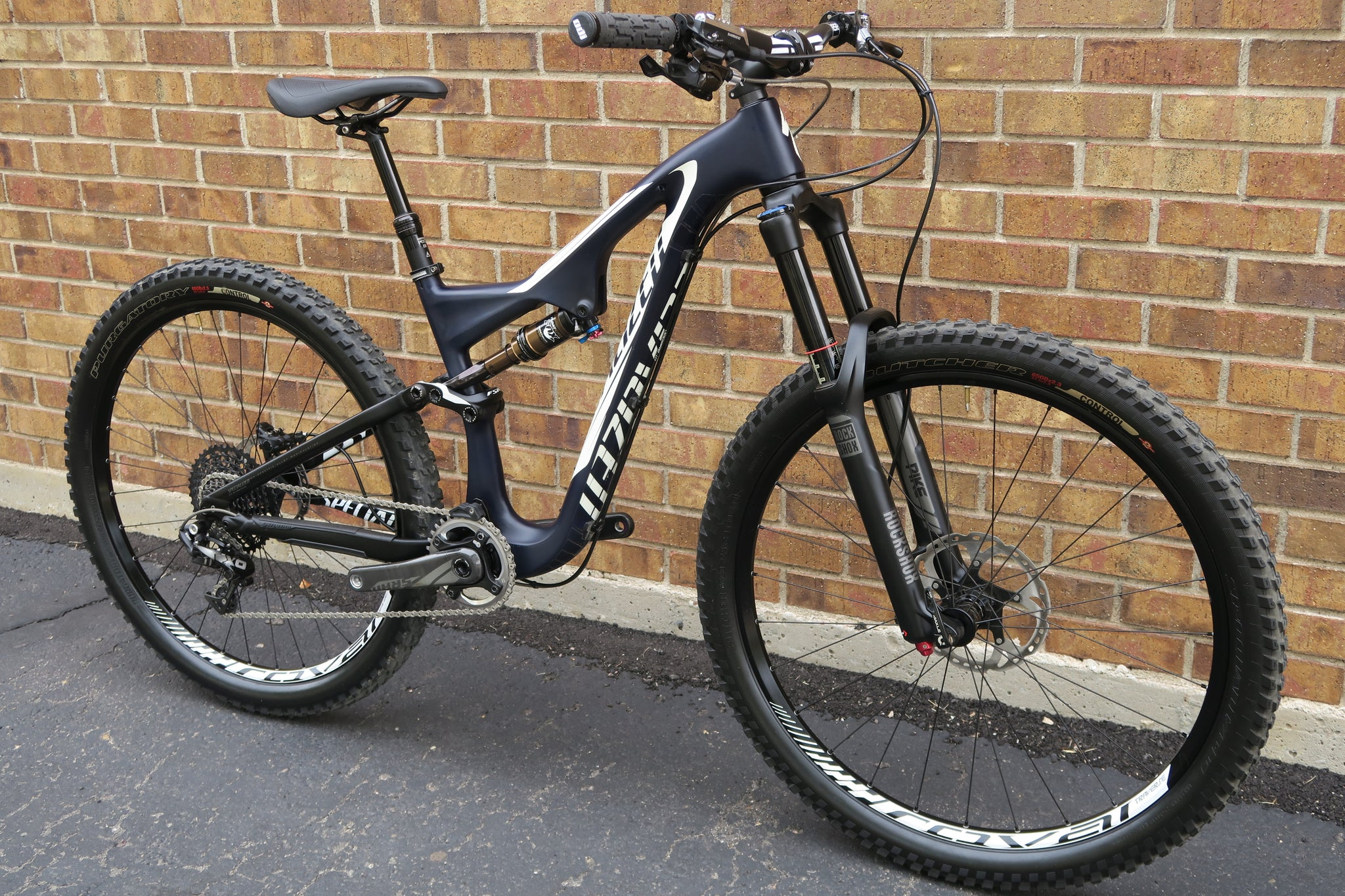 2015 SPECIALIZED STUMPJUMPER FSR EXPERT EVO CARBON 27.5""