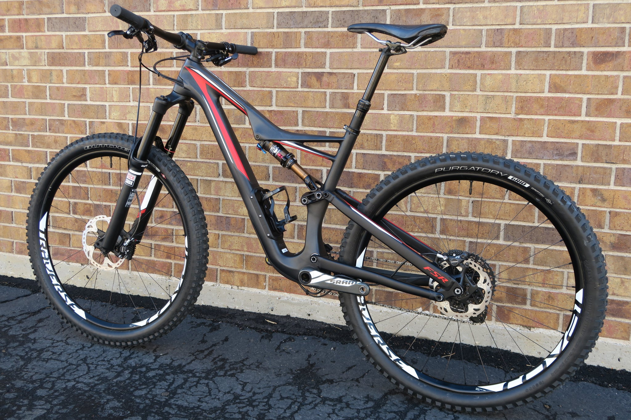 2016 SPECIALIZED STUMPJUMPER FSR EXPERT CARBON 27.5""
