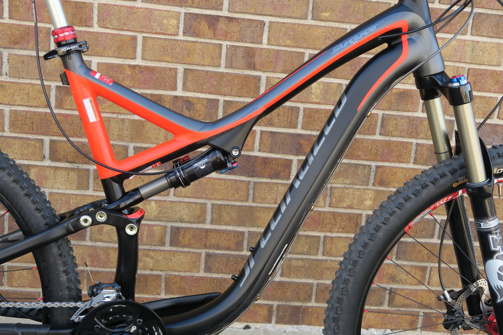 2013 SPECIALIZED STUMPJUMPER FSR COMP 29""