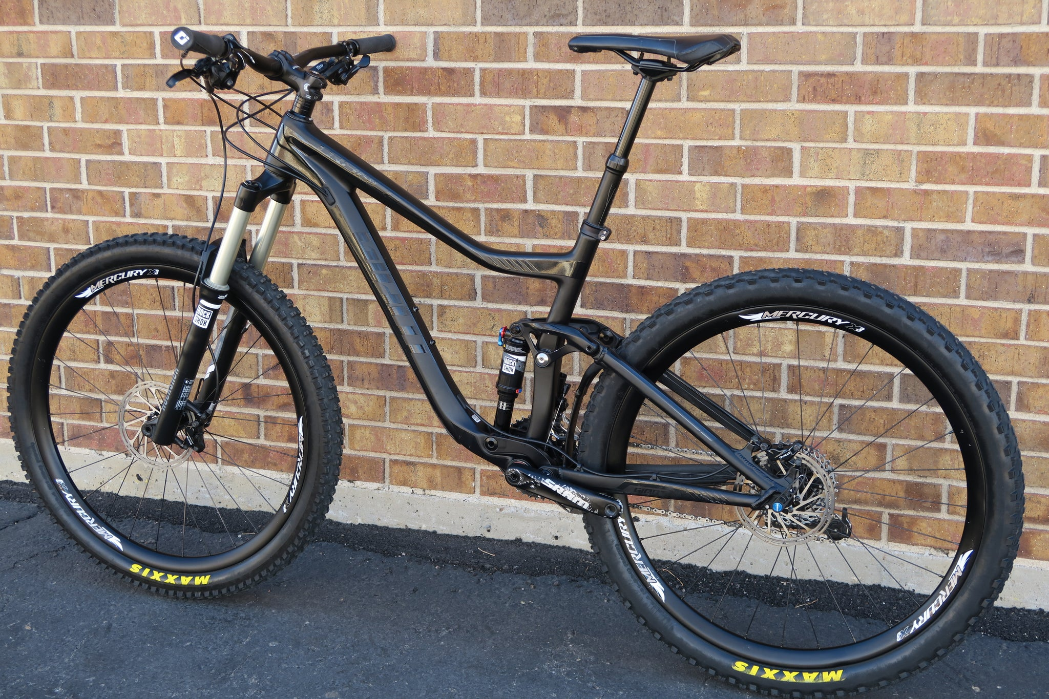 2016 GIANT TRANCE ADVANCED 2 CARBON 27.5""