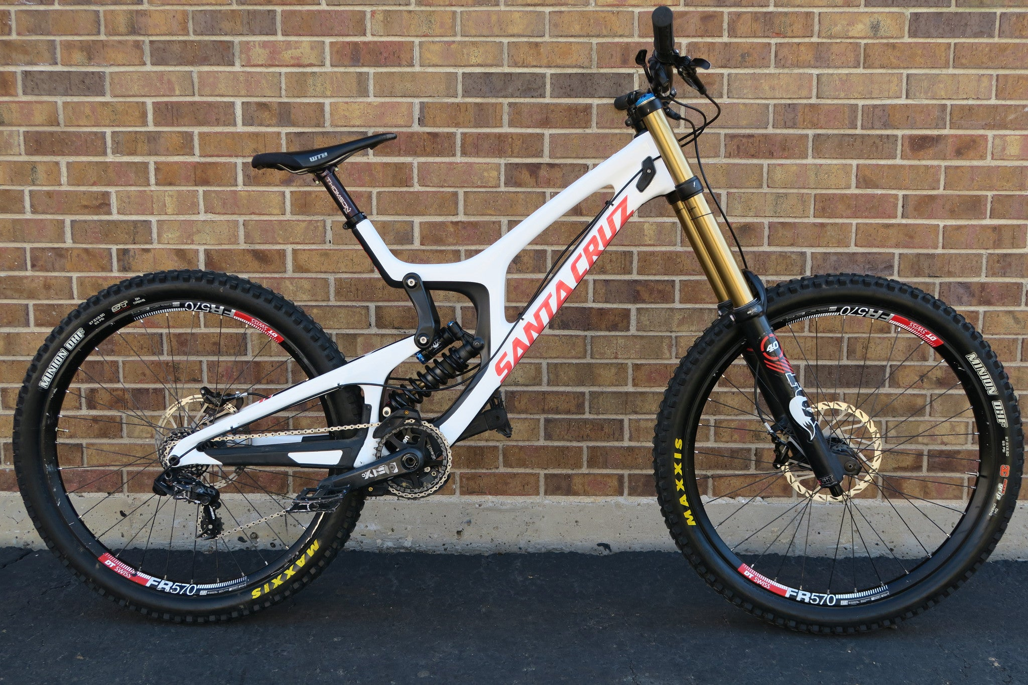 2015 SANTA CRUZ V10 CC CARBON 27.5
