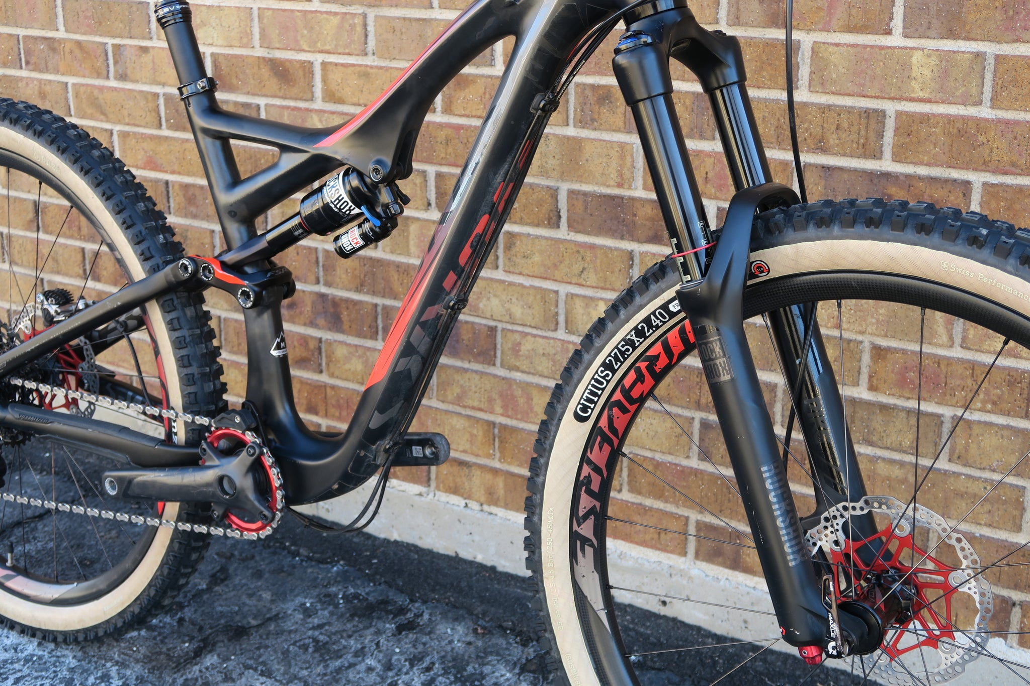2015 S-WORKS STUMPJUMPER FSR EVO 650B CARBON 27.5""