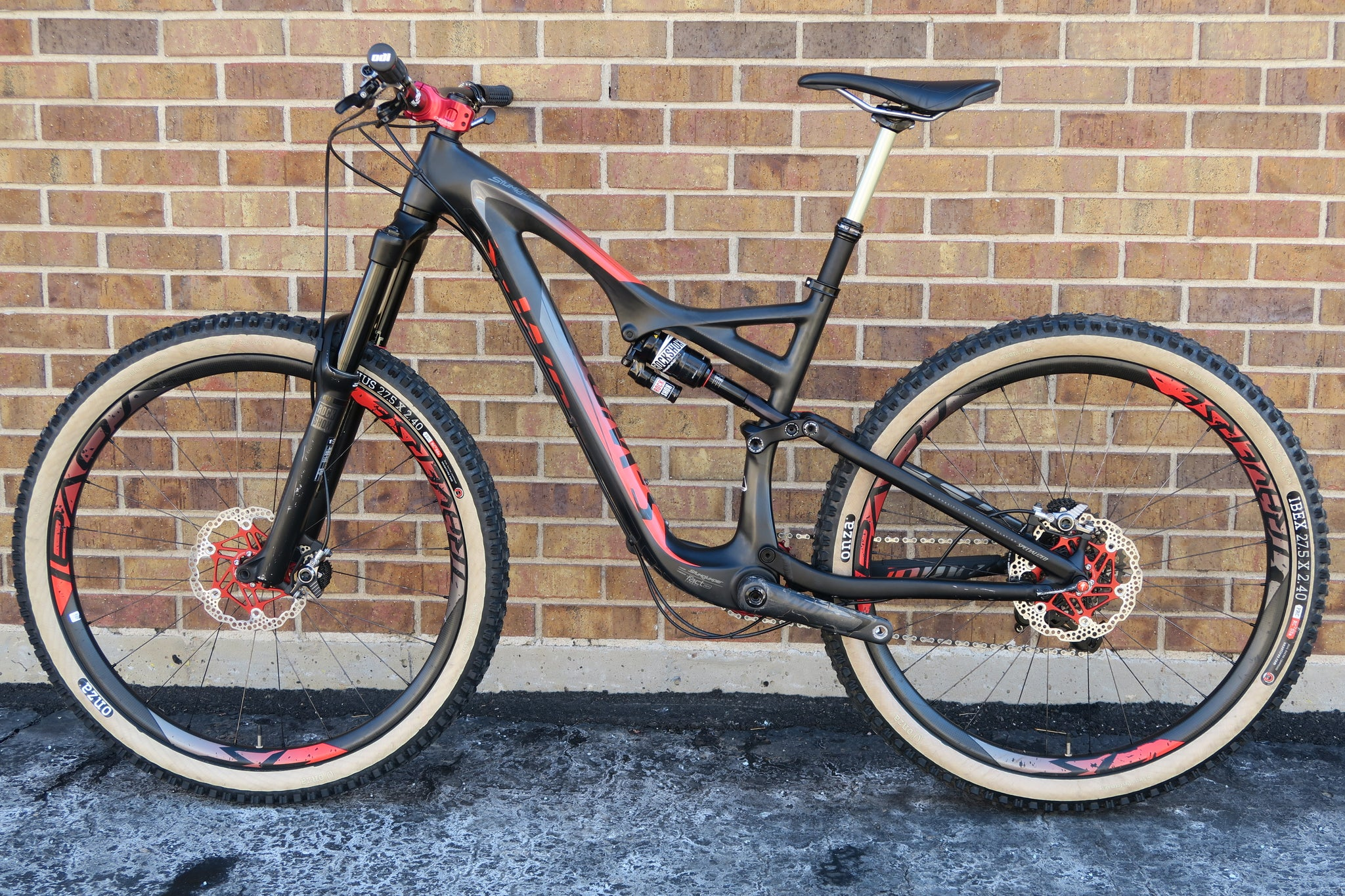 "2015 S-WORKS STUMPJUMPER FSR EVO 650B CARBON 27.5"" M"