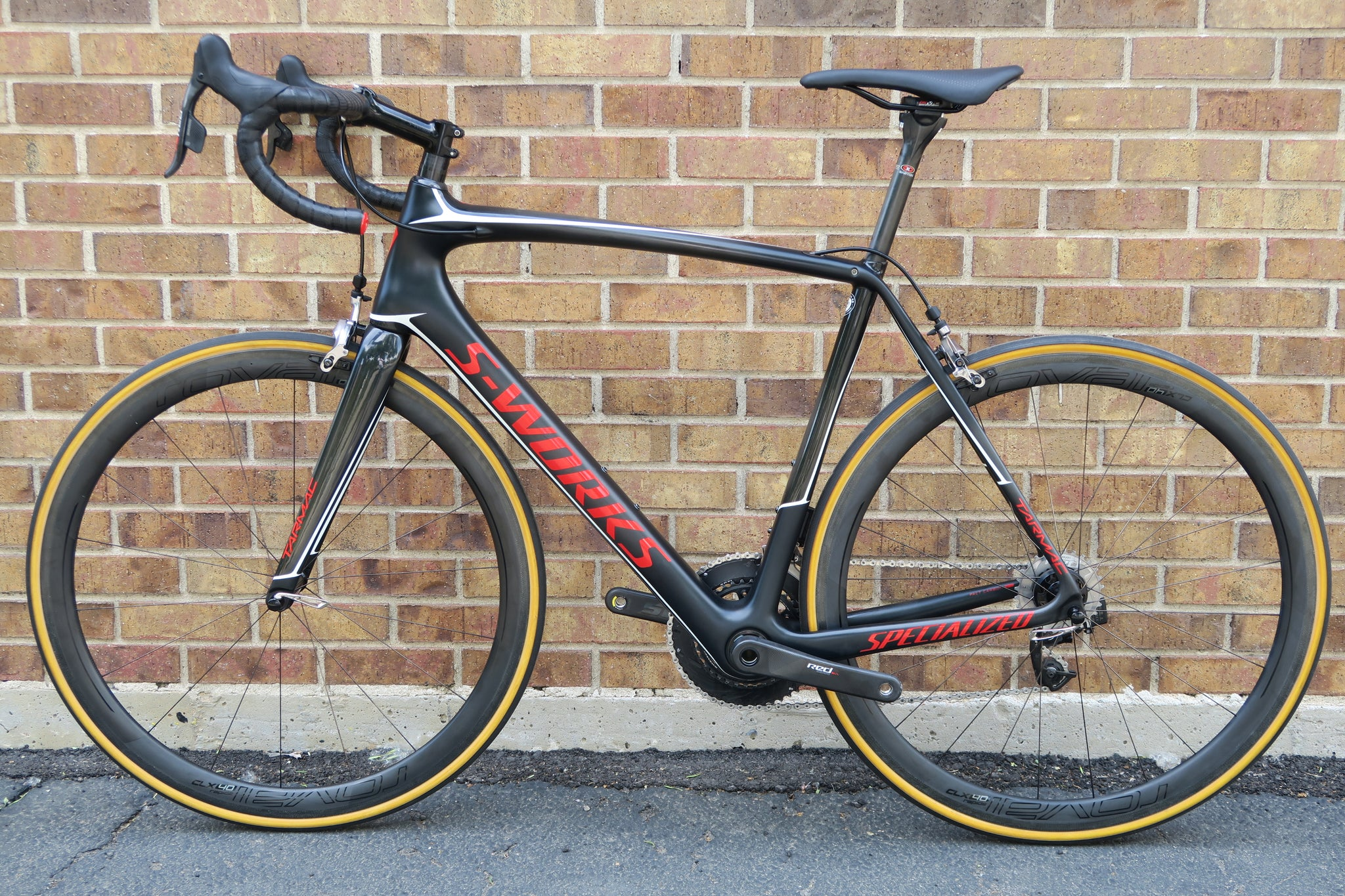 2017 S-WORKS TARMAC RED ETAP CARBON