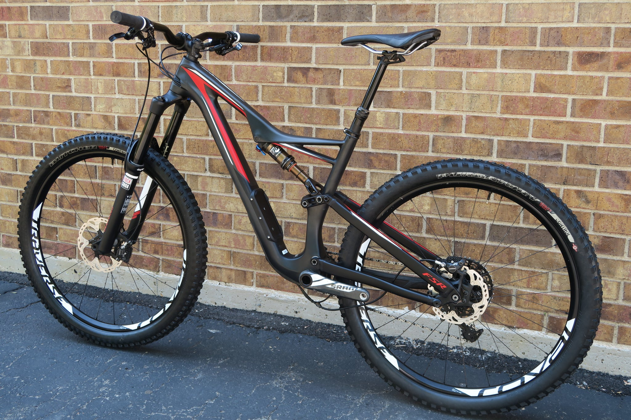 2016 SPECIALIZED STUMPJUMPER FSR EXPERT 27.5""