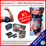 Abtronic X1 - Mega Power Edition + Gratis Gel - tv-original - 2