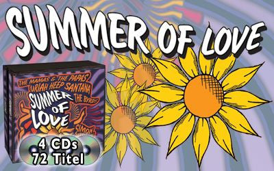 Summer of Love, 4 CDs - tv-original