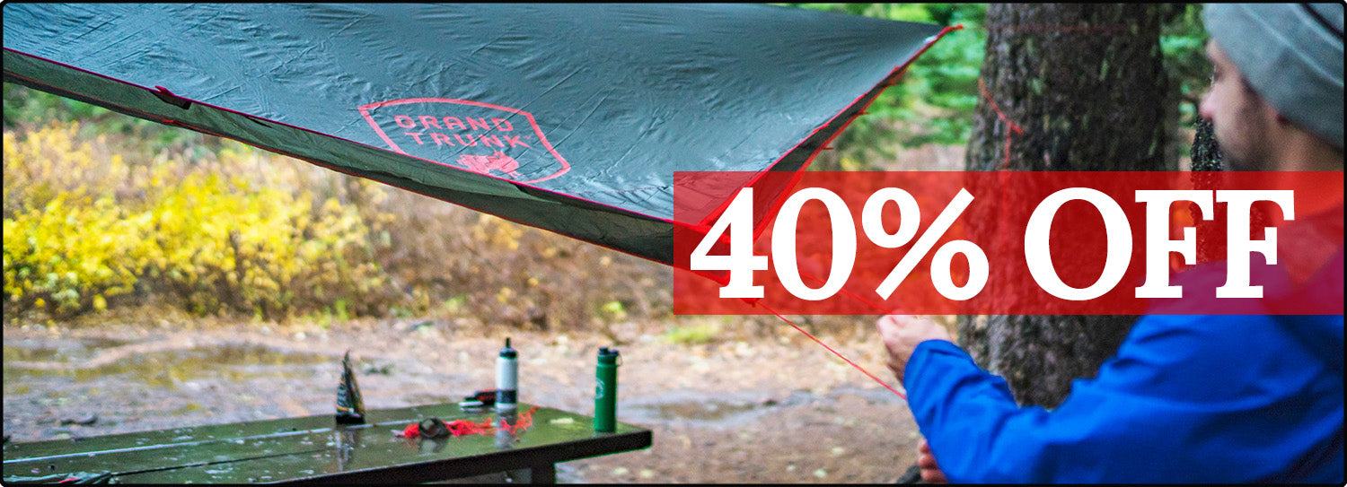 40% Off Abrigo Rain Fly and other gear!