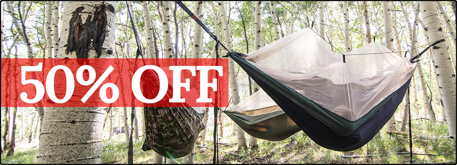 50% Off Skeeter Beeter Mosquito Net Hammocks and other Gear!