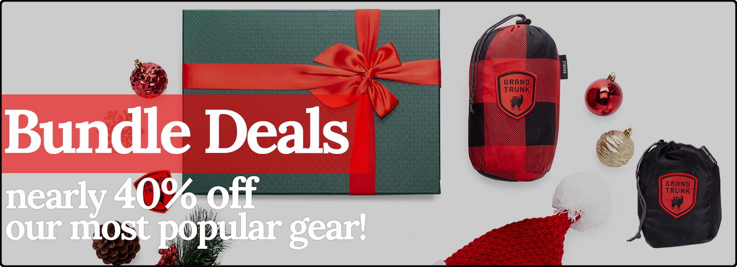 Grand Trunk Holiday Bundles. Save 40%!