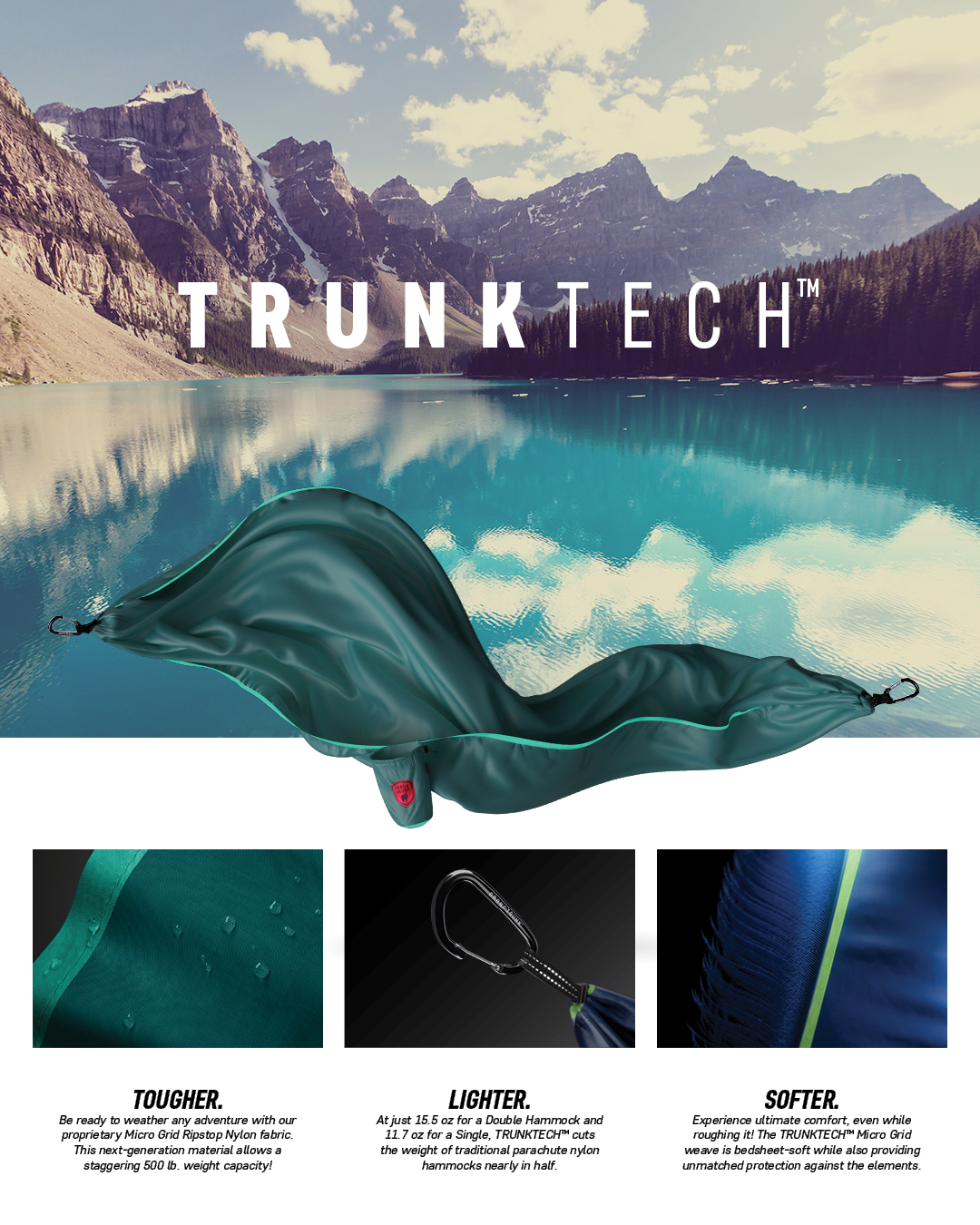 Trunk Tech hammocks by Grand Trunk