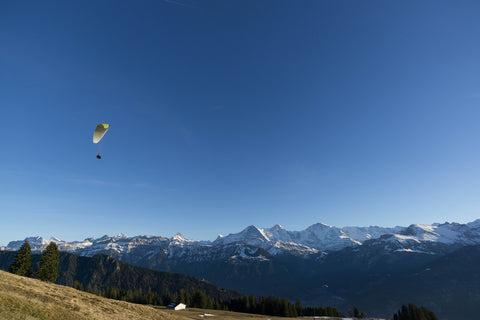 hang gliding in switzerland
