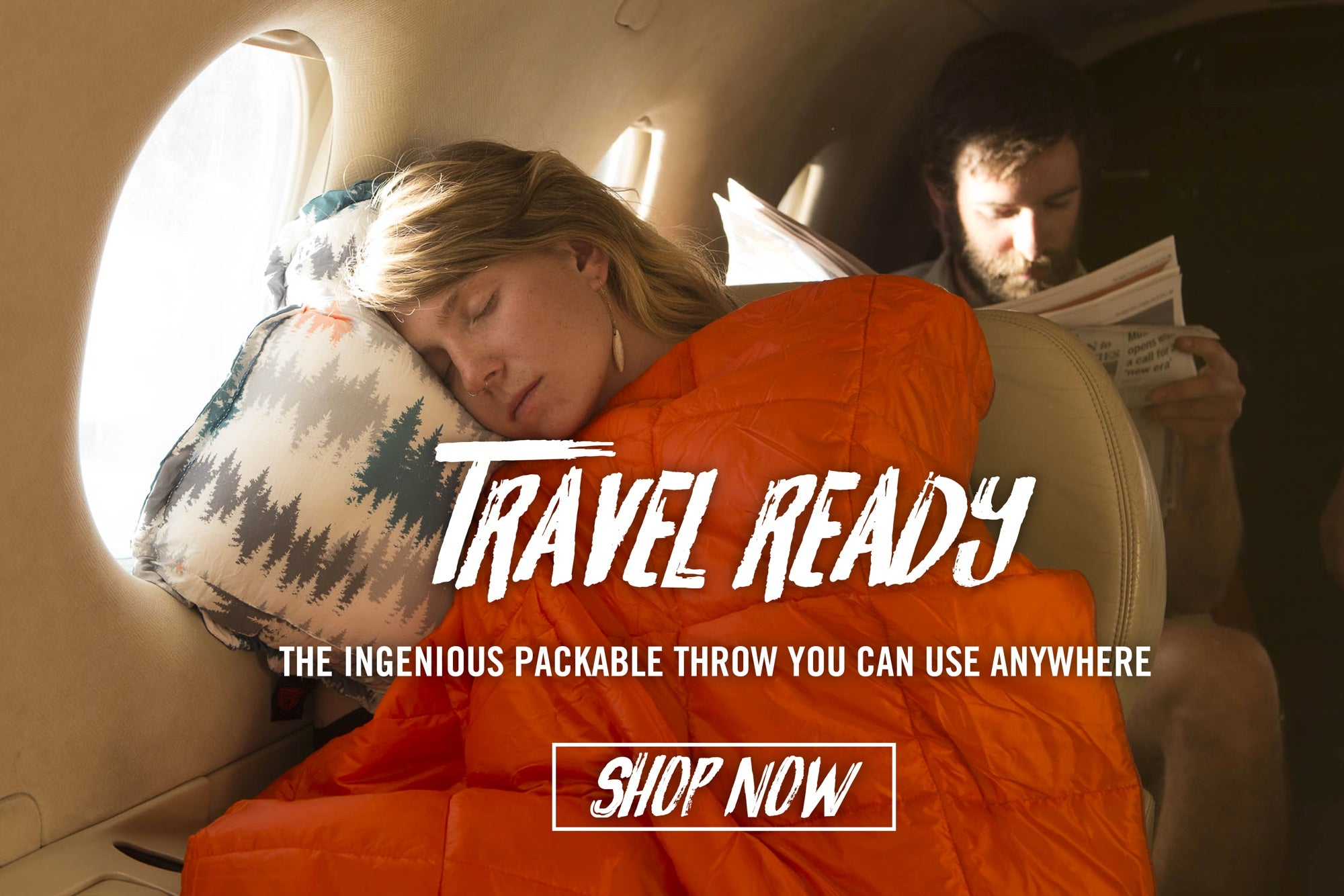 Lightweight and Portable Travel Pillows and Blankets
