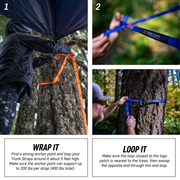 Grand Trunk Tree Straps Hang Your Hammock Anywhere
