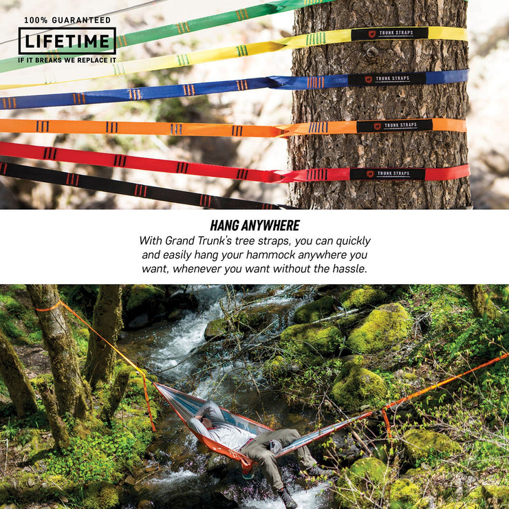 Hammock Trunk Straps - Orange