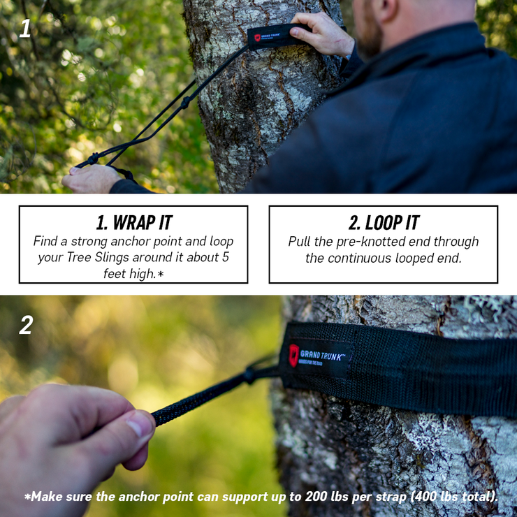 Tree Slings Hammock Hanging Kit