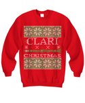 Clari Christmas - Clarinet - Tacky Sweatshirt
