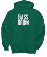 Simple Bass Drum Hoodie