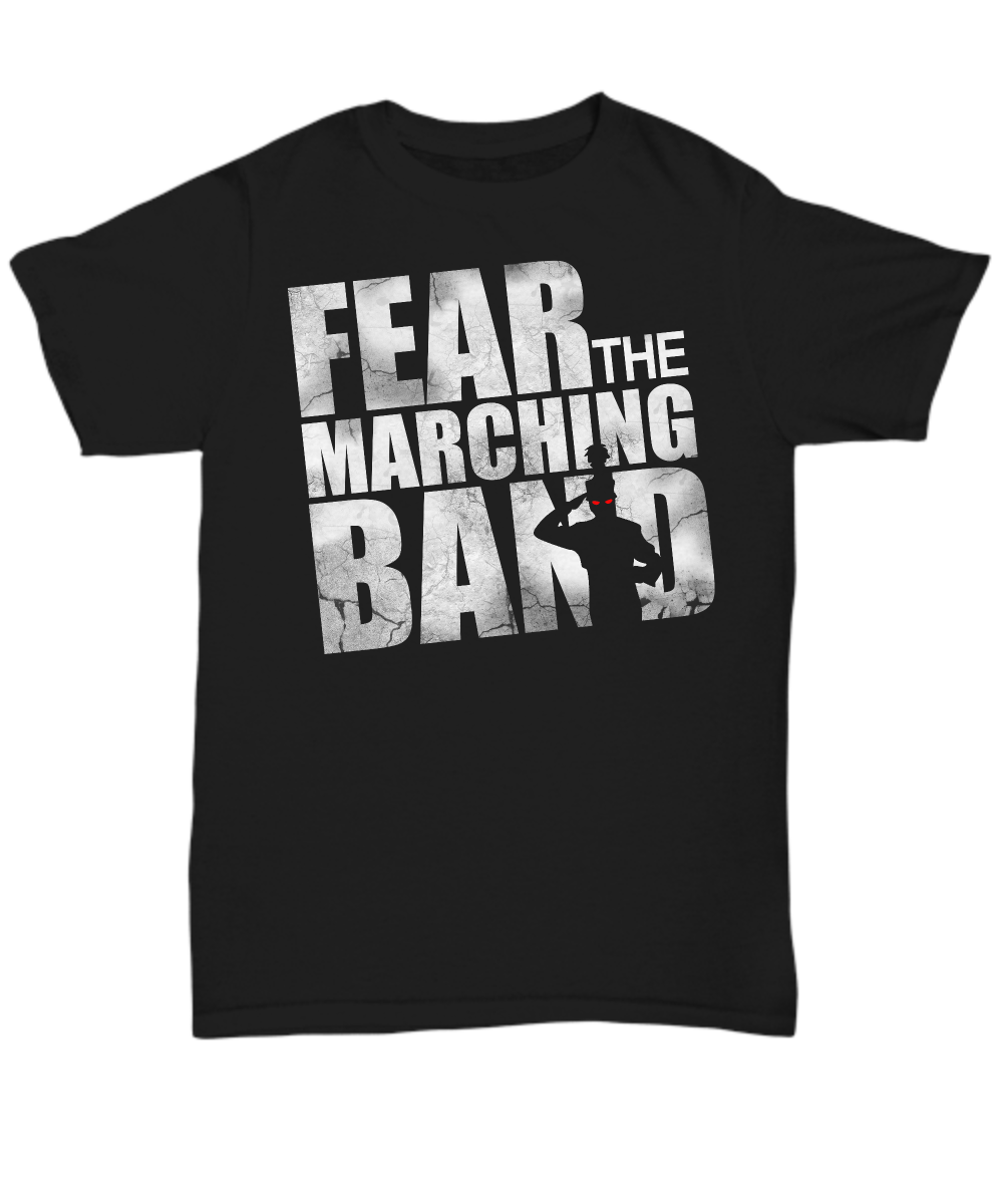 Fear The Marching Band Zombie Tee