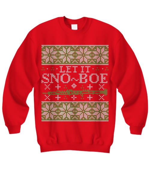 Let it Sno-boe - Oboe Tacky Sweatshirt
