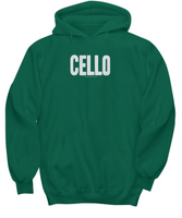 Simple Cello Hoodie