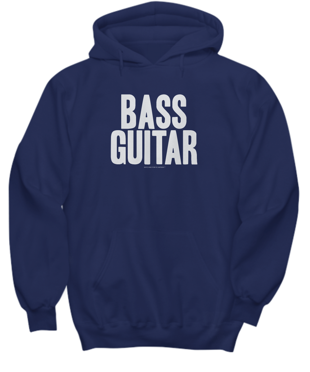Simple Bass Guitar Hoodie