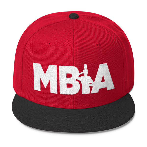 MBIA - Silhouette Flat Embroidery - Wool Blend Snapback