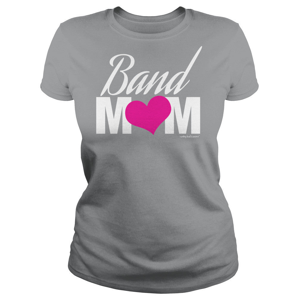 Band Mom Heart Tee