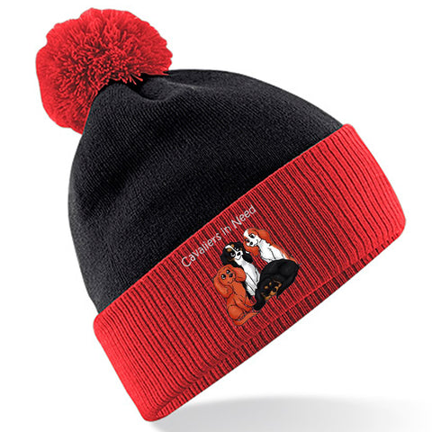 Cavaliers in Need NI Bobble Hat