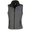 Bleu Du Maine Sheep Society Womens Softshell Gilet