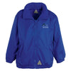 Bleu Du Maine Sheep Society Kids Rain Jacket