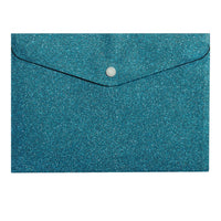 All About Blue Glitter Envelope