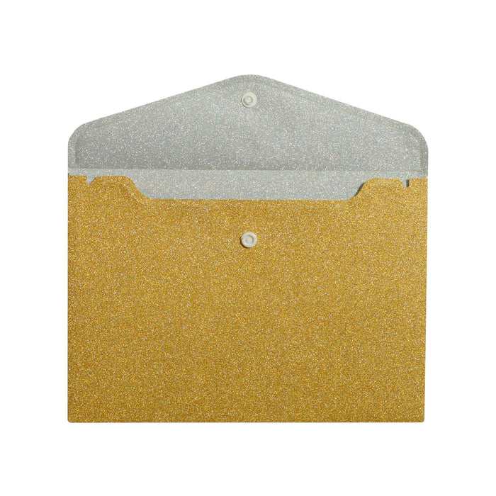 Go for Gold Glitter Envelope