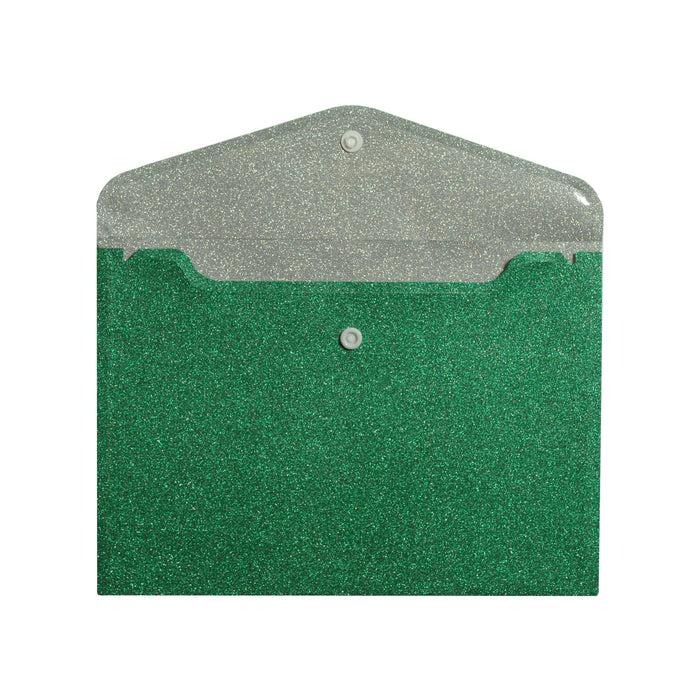 Gorgeous Green Glitter Envelope