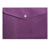Picture Purple Glitter Envelope