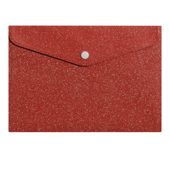 Ruby Red Glitter Envelope