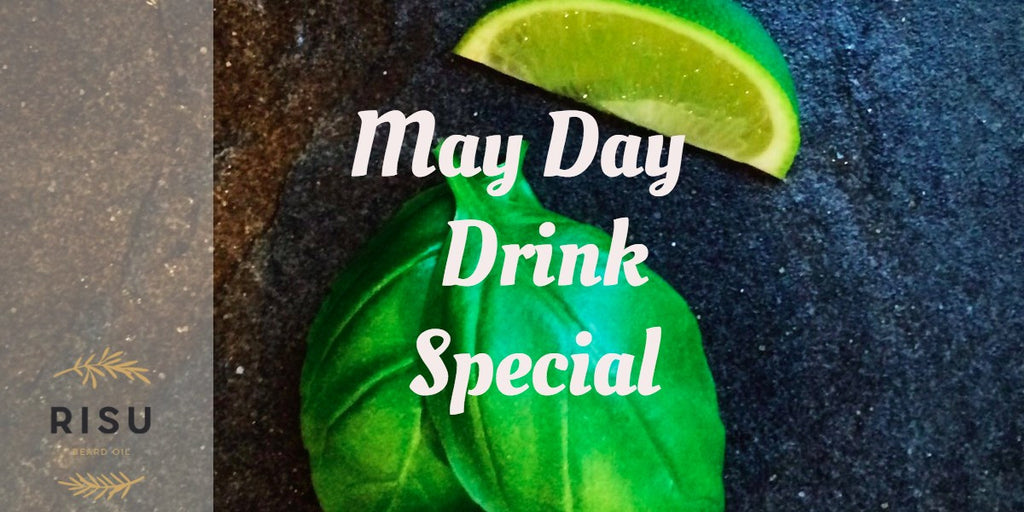 May Day Drink Special - Viridian Green Gin & Tonic