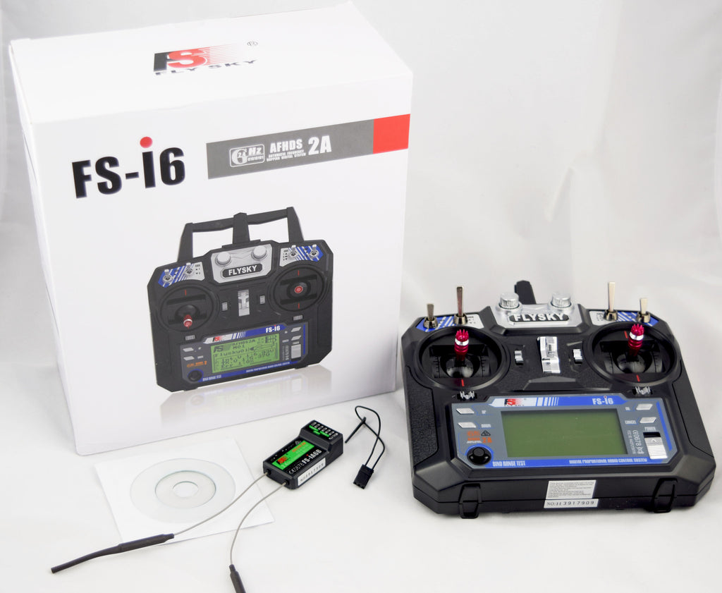FlySky FS-i6 Telemetry Radio System , your best low cost  RC Sailing radio solution!