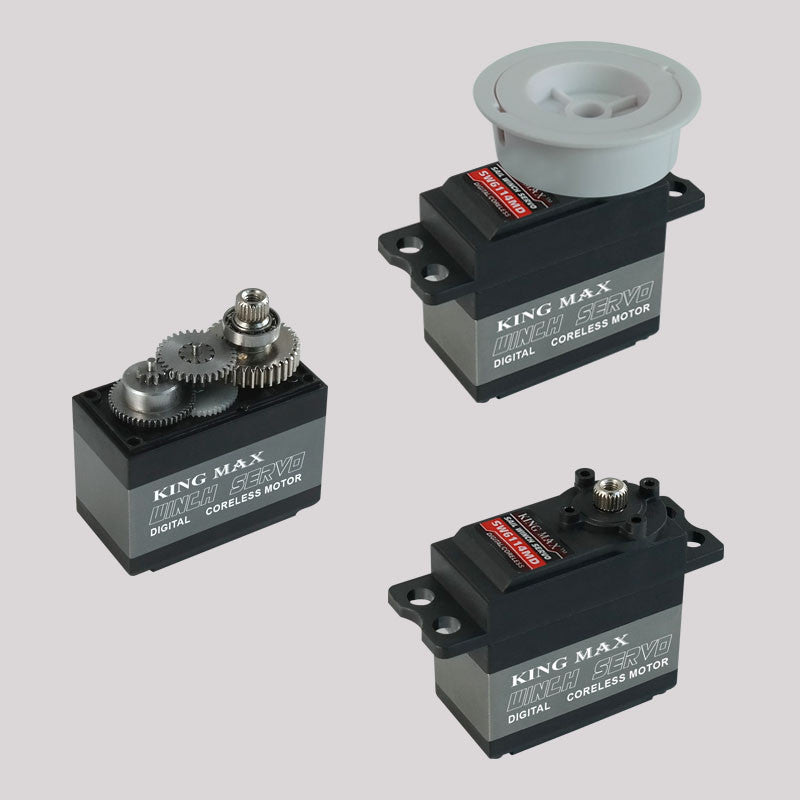 SW6114MD Coreless, Digital, Low Voltage Sail Winch Servo