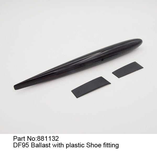 Ballast with plastic Shoe fitting - DragonFlite 95