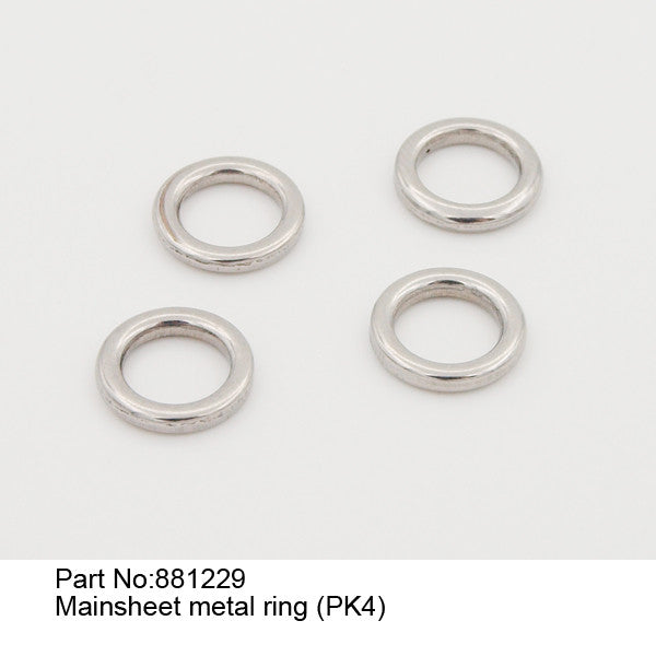Mainsheet metal ring (PK4)