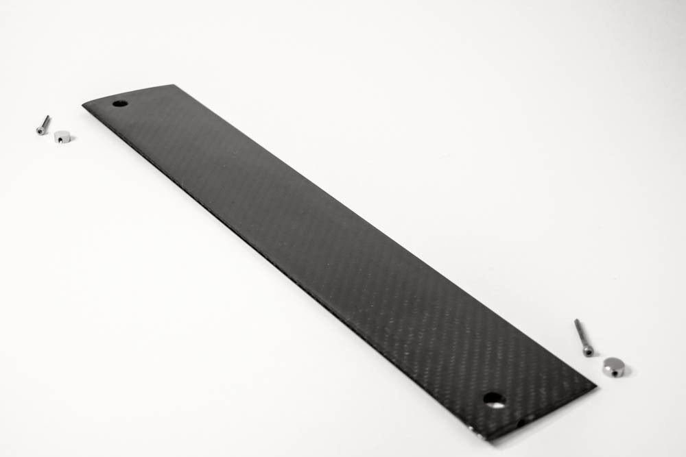 Carbon Keel  Fin w/ bolts - DragonFlite 95