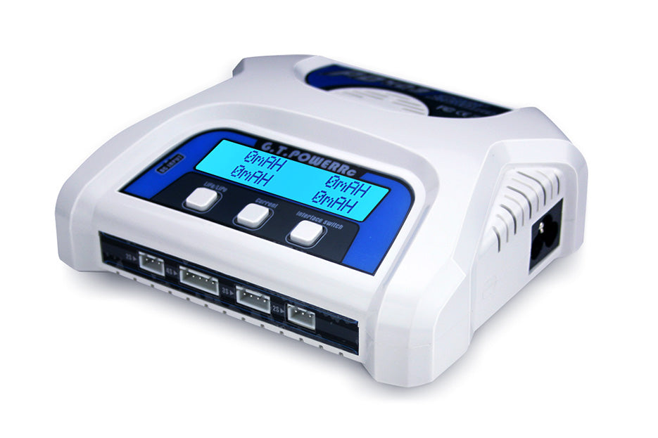 2-4 Cell AC/DC Dual LiPo/Life Battery Balance Charger
