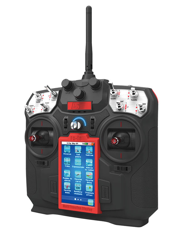 Flysky FS-i8 Touch Screen Transmitter w FS-iA6B Receiver Digital Proportional Radio System