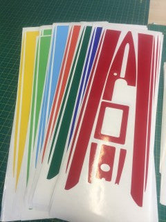 Hull & Deck Sticker Set - DF65 v6