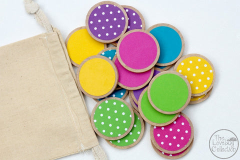 Brights and Dots Memory Game Set