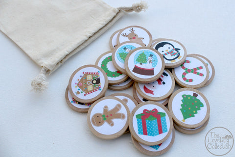 Christmas Memory Game Set